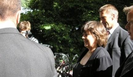 De beveiligingsploeg van Rita Verdonk in actie in 2005 - cc voetnoot.org