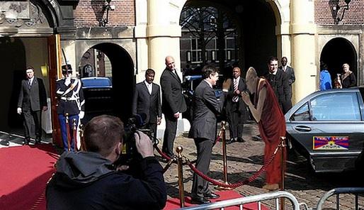 Balkenende en de Dalai Lama