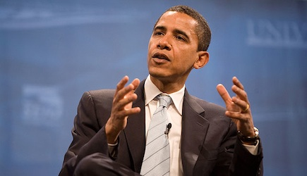 Cc Barack Obama at Las Vegas Presidential Forum