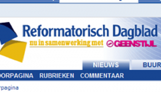 GeenStijl gaat samenwerken met Reformatorisch Dagblad - Cc De Speld