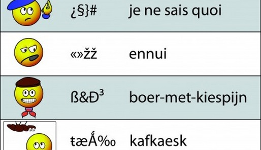 Literaire emoticons - Cc De Speld