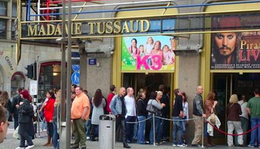 Madame Tussauds - Anonymous
