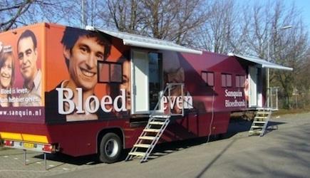 Mobiele bloedbank