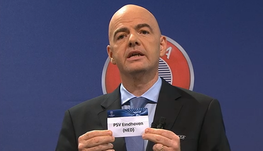 Champions League Loting Picture: PSV Overleeft Loting Play-off Champions League
