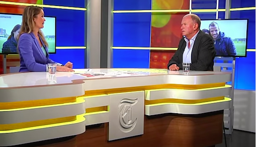 Screenshot Telegraaf TV