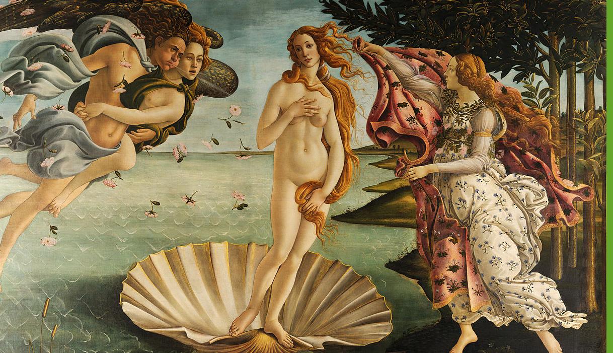 Bron: Wikimedia cc Sandro Botticelli