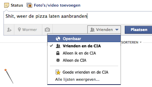 Facebook - CIA