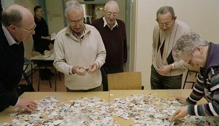 postzegels - Jan Dirk van der Burg