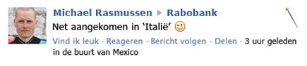 rasmussen facebook