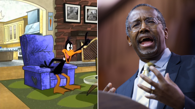 Banner-Daffy-Duck-Ben-Carson
