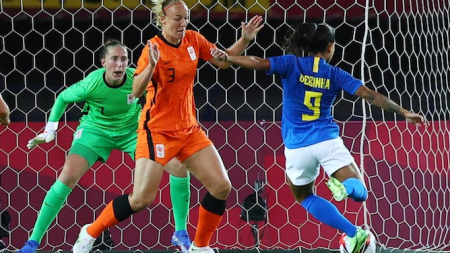 Sari van Veenendaal tevreden: 'Weer de 3 weten te houden'