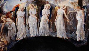 British School Painter Influenced by William Blake, Public domain, via Wikimedia Commons