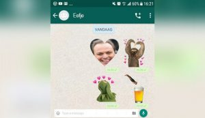 Man probeert gebrek aan communicatievaardigheden te verbergen met enorme collectie Whatsapp-stickers