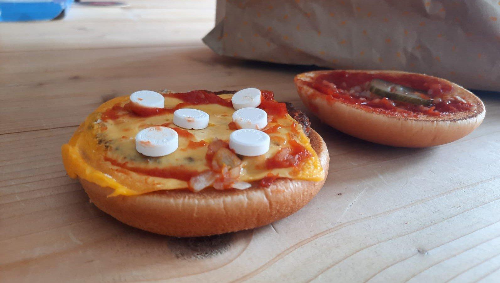 McDonald's komt met Kater Pounder: burger, kaas en paracetamol