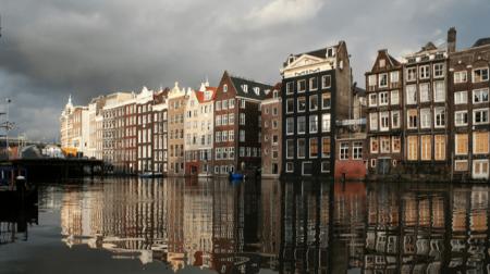 Vannacht veel regen verwacht in Amsterdam
